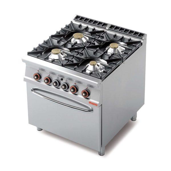 Cucina a gas 4 fuochi elettropan - Migliore cucina a gas ...