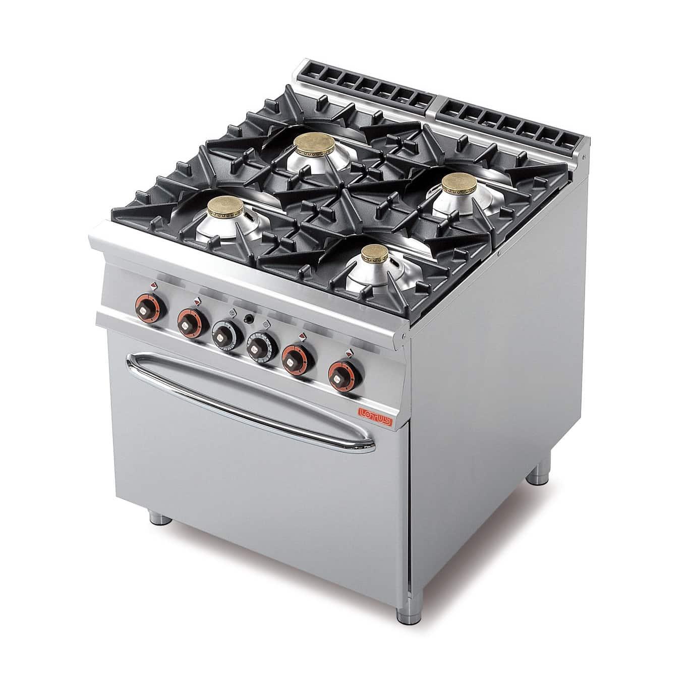 Attrezzature professionali per ristorazione piani cottura - Migliore cucina a gas ...